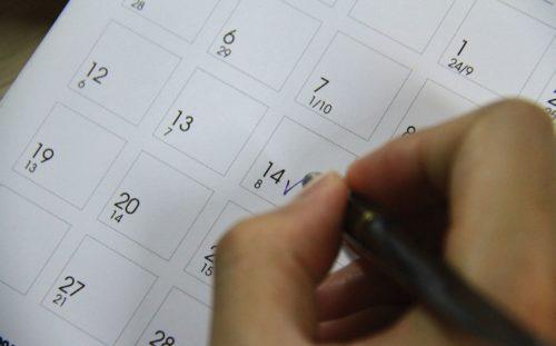 Xác định các ngày bất tương trong tháng, năm