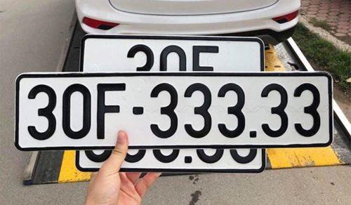 Bói ý ngĩa biển số xe máy, ô tô của bạn